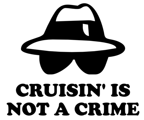 Cruisin' is not a crime